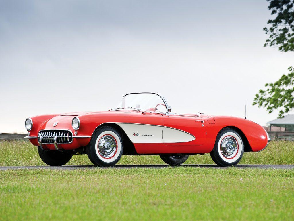 Chevrolet Corvette 1957 года
