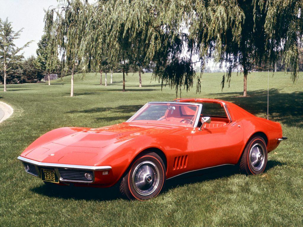Chevrolet Corvette C3 1968 года