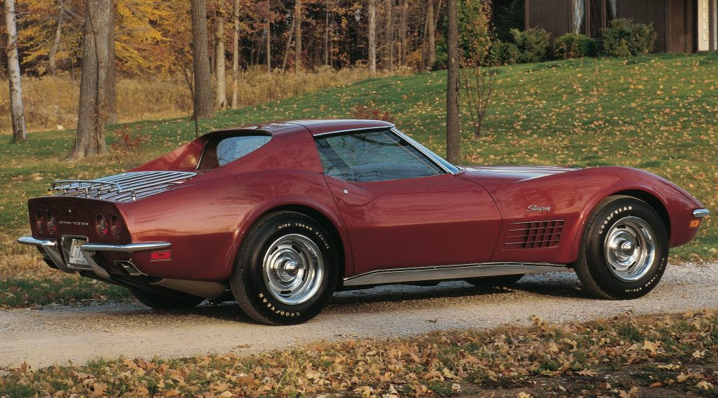 Chevrolet Corvette LT1 1970 года