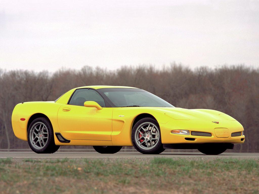Chevrolet Corvette Z06 2001 года