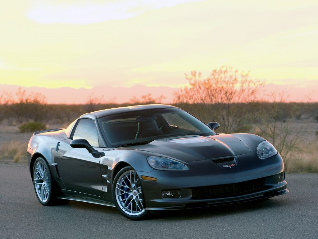 Chevrolet Corvette ZR1 2008 года