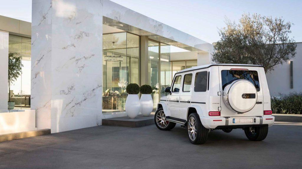 Новый Mercedes-AMG G63, вид сзади