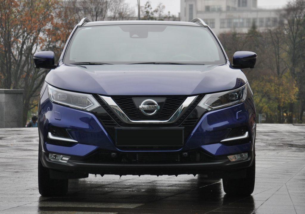 Nissan Qashqai 2018, вид спереди