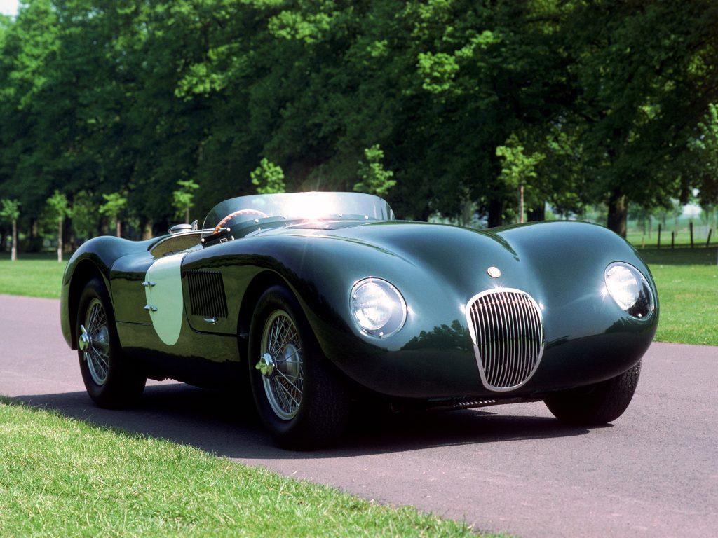Jaguar C-Type – первый в мире автомобиль с дисковыми тормозами