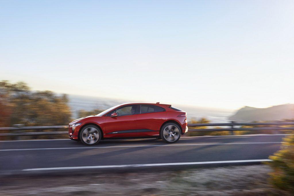 Jaguar I-Pace 2018, вид сбоку