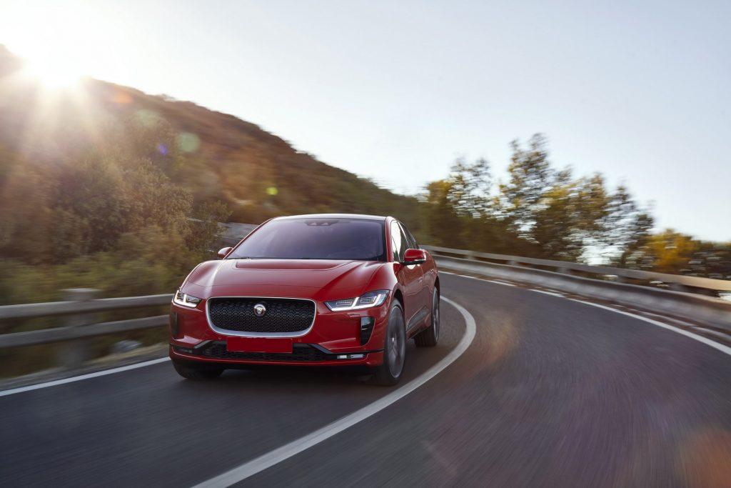 Jaguar I-Pace 2018, вид спереди