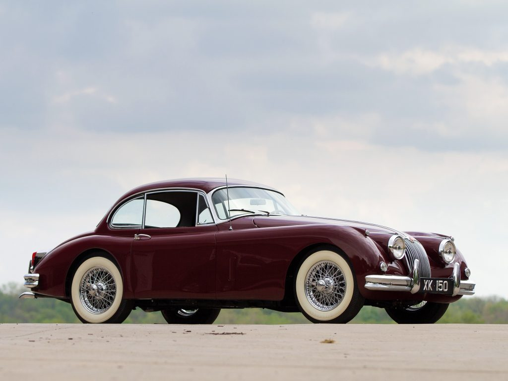 Jaguar XK150 Fixed Head Coupe 1957 года