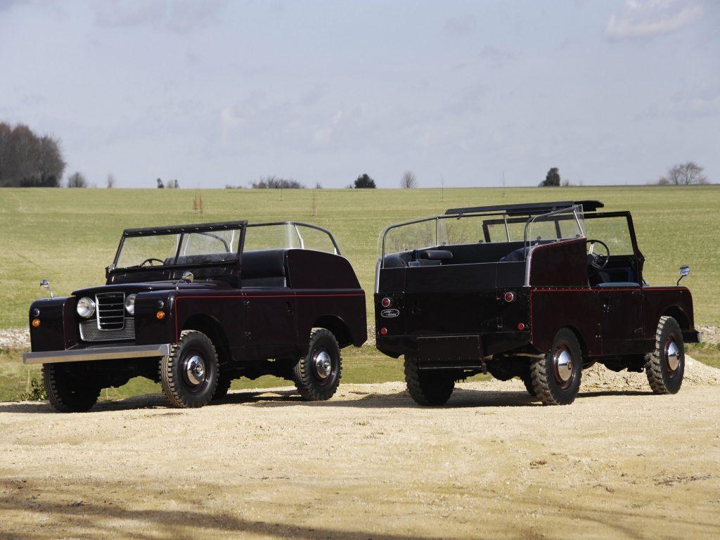 Парадный Land Rover королевы Елизаветы II