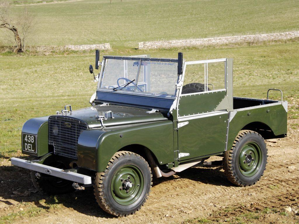 Land Rover 1948 года