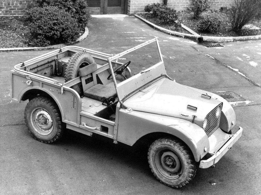 Прототип Land Rover построили с использованием агрегатов Jeep
