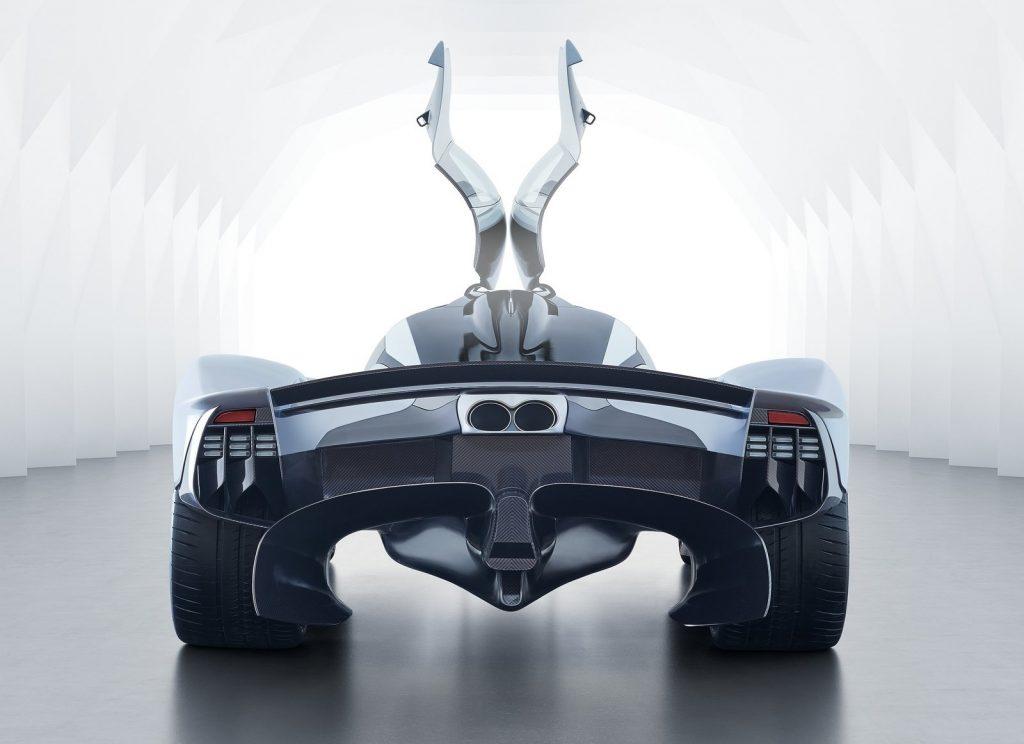 Aston Martin Valkyrie 2018, вид сзади