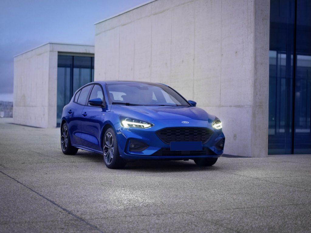 Ford Focus 2018, вид спереди