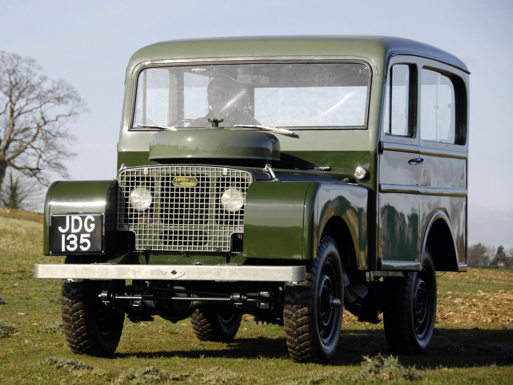 Land Rover Tickford Station Wagon, 1948 год