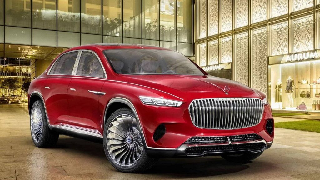 Mercedes-Maybach Ultimate Luxury, вид спереди