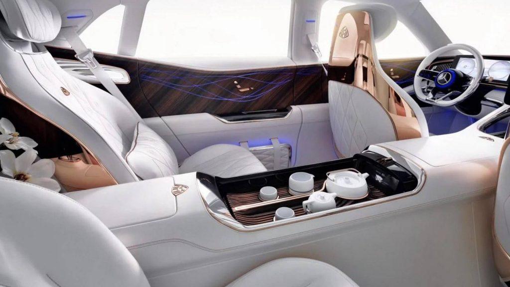 Maybach Ultimate Luxury, задние сиденья