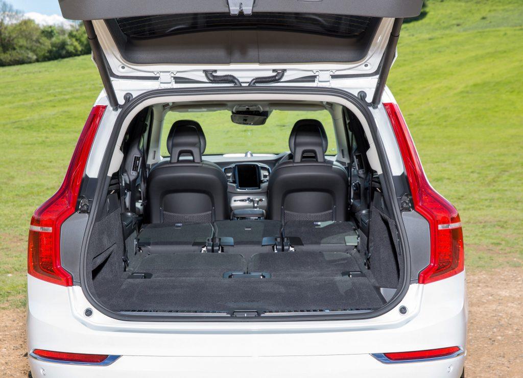 Volvo XC90, багажник