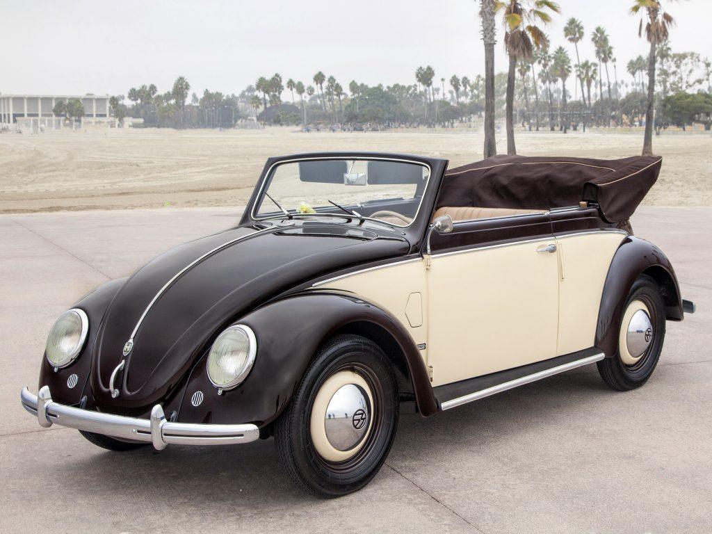 Кабриолет Volkswagen Beetle 1949 года