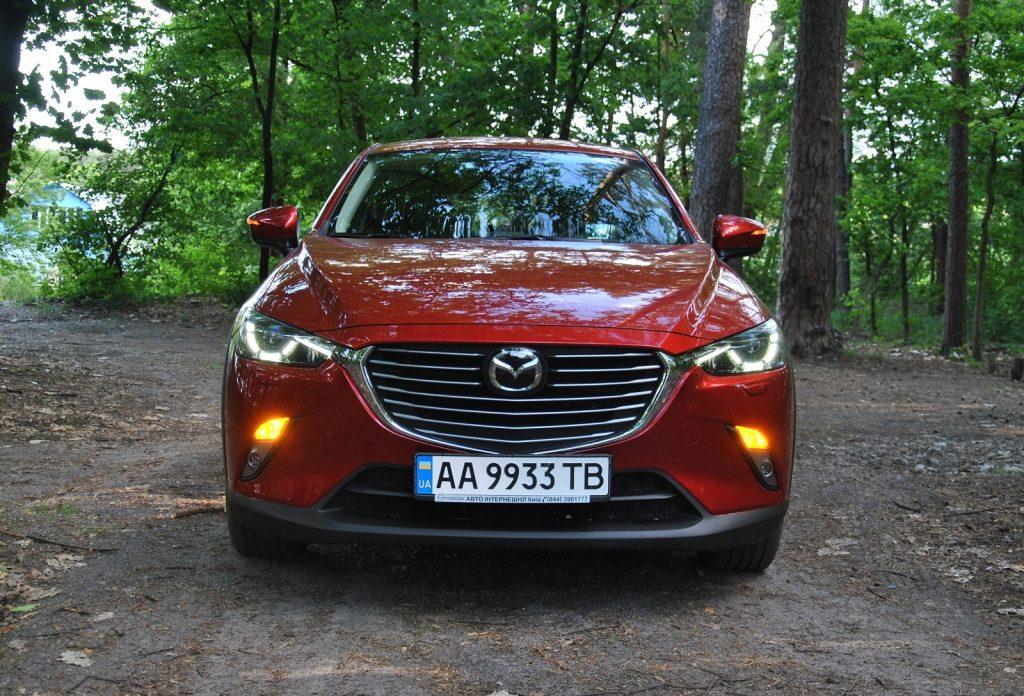 Mazda CX-3 2018, вид спереди