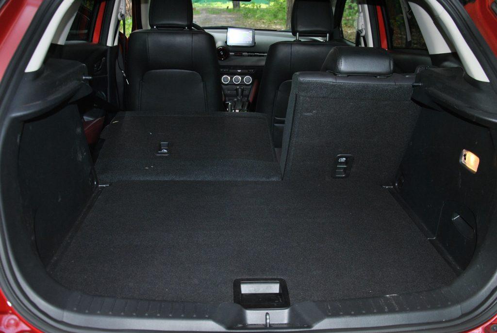 Новая Mazda CX-3, багажник