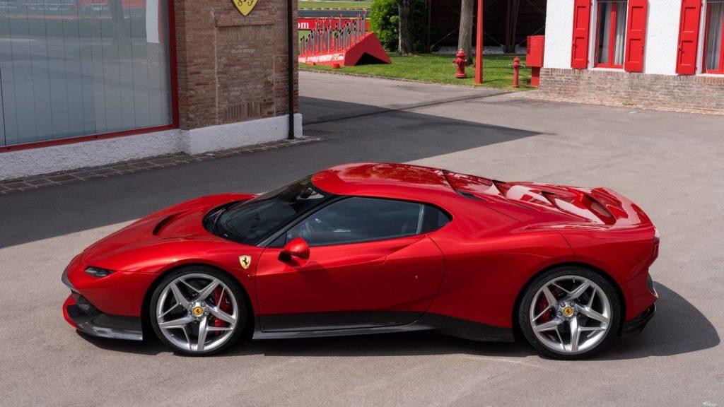 Ferrari SP38 2018, вид сбоку