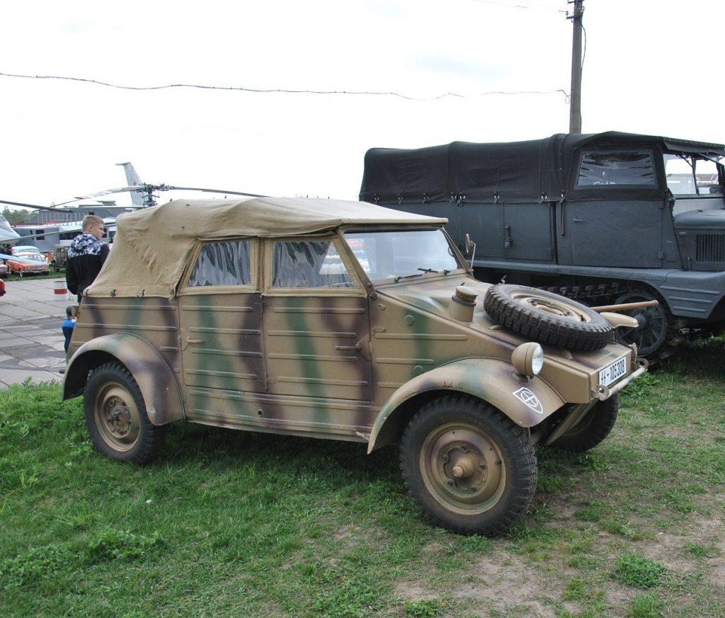 Kubelwagen - военный брат Жука