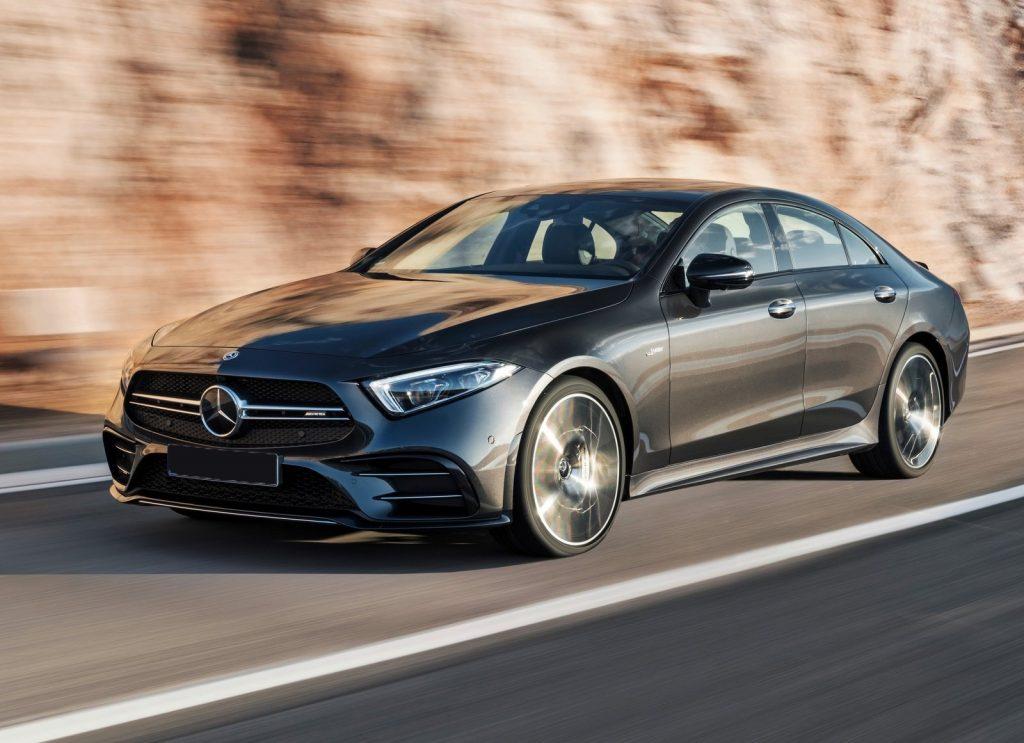 Mercedes-Benz CLS, вид на переднюю диагональ