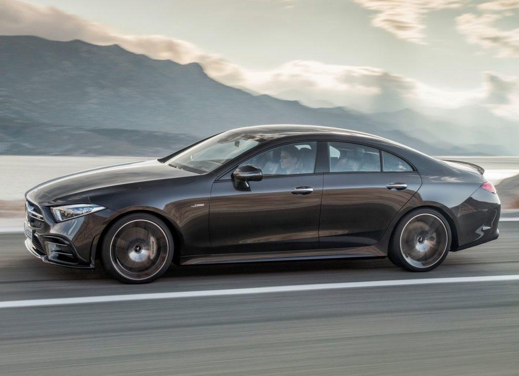 Mercedes-Benz CLS 2018, вид сбоку