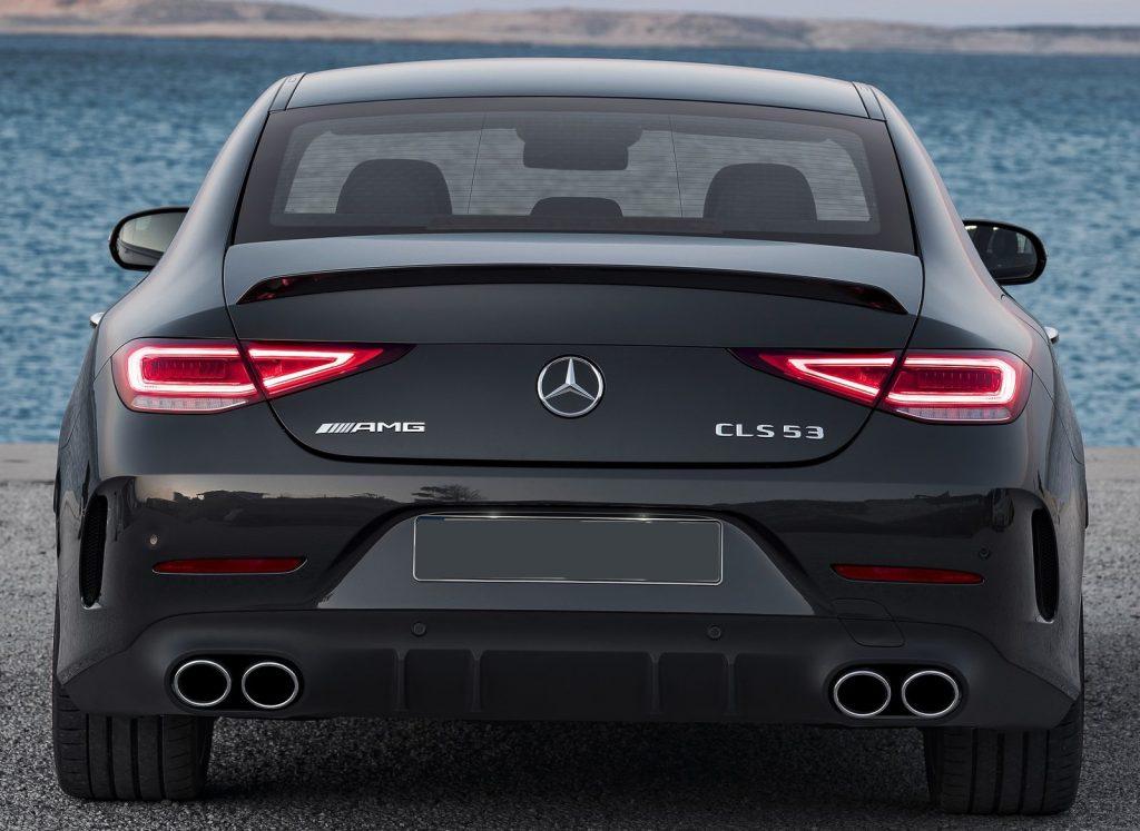 Mercedes-Benz CLS 2018, вид сзади