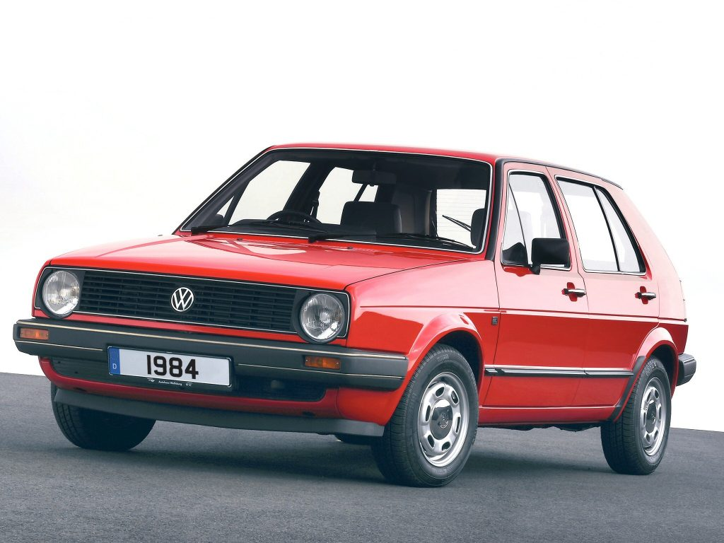 Volkswagen Golf II 1984 года