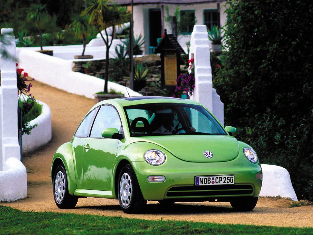 Volkswagen New Beetle 1998 года