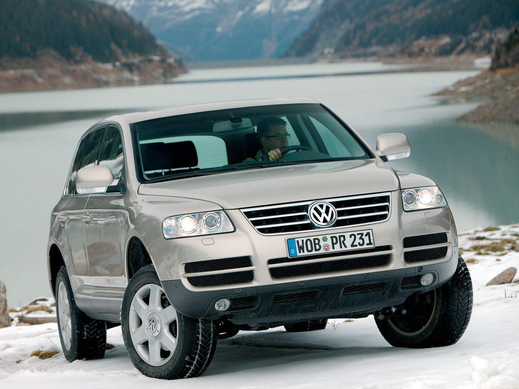 Volkswagen Touareg 2002 года