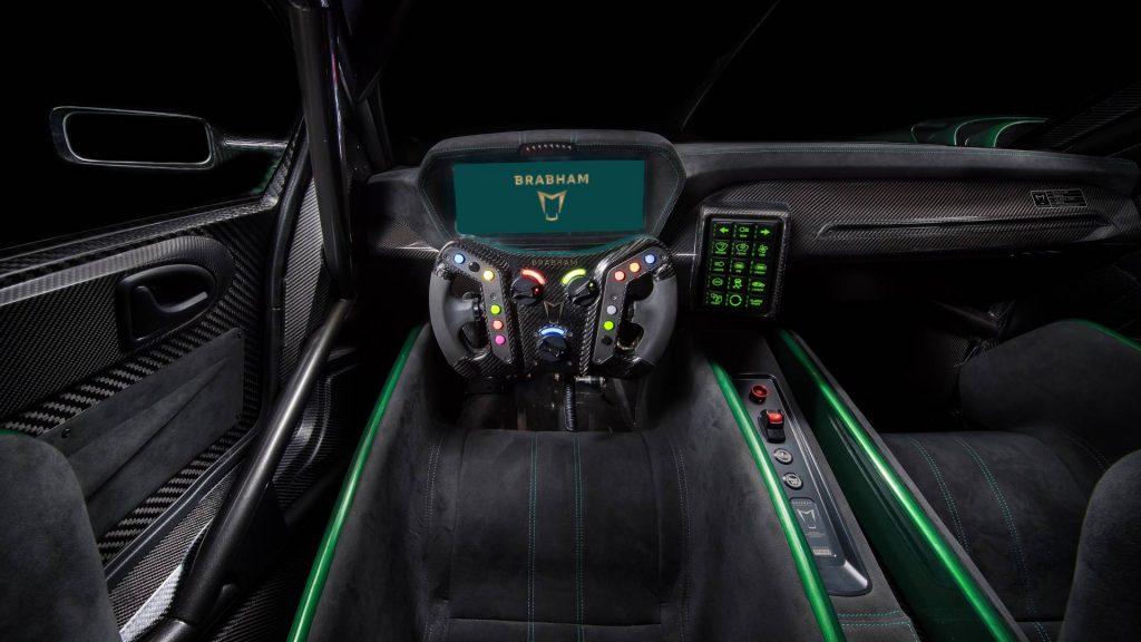 Новый Brabham BT62, салон