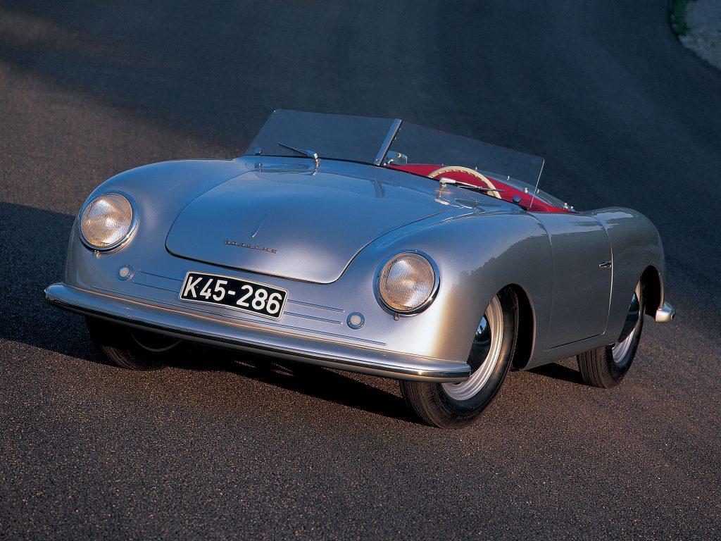 Самый первый Porsche 356 1948 года был среднемоторным