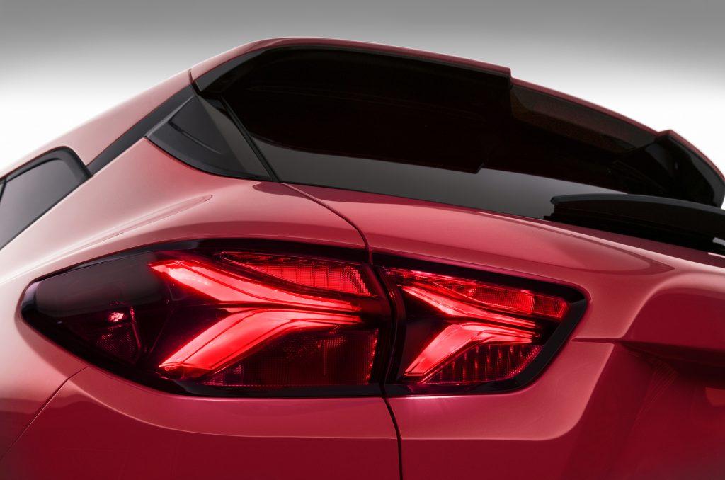 Chevrolet Blazer 2019, задняя оптика