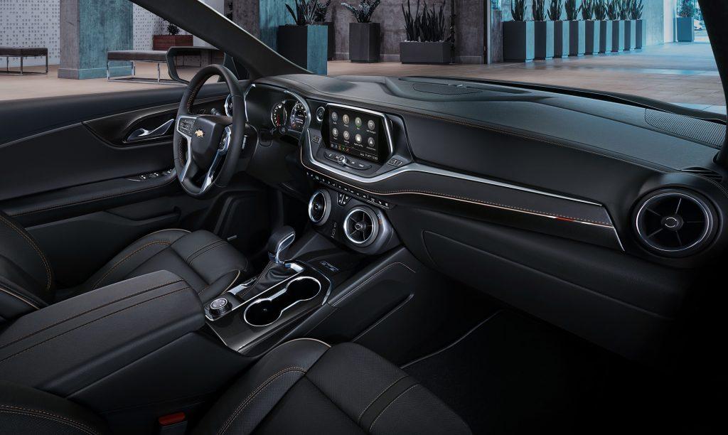 Новый Chevrolet Blazer, салон
