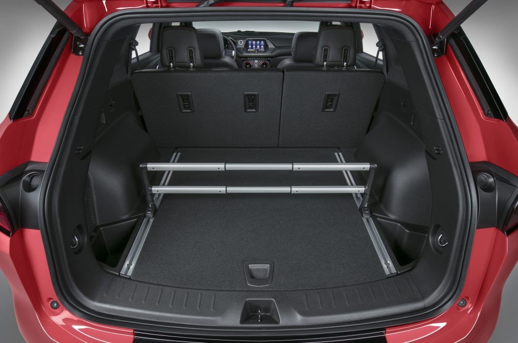 Chevrolet Blazer, багажник