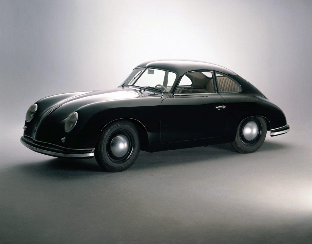 Porsche 356 1950 года стал заднемоторным