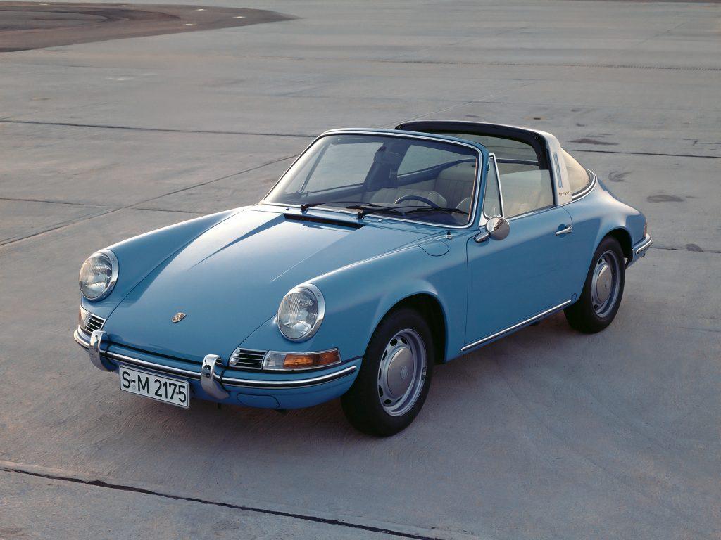 Porsche 911 Targa дал название новому типу кузова
