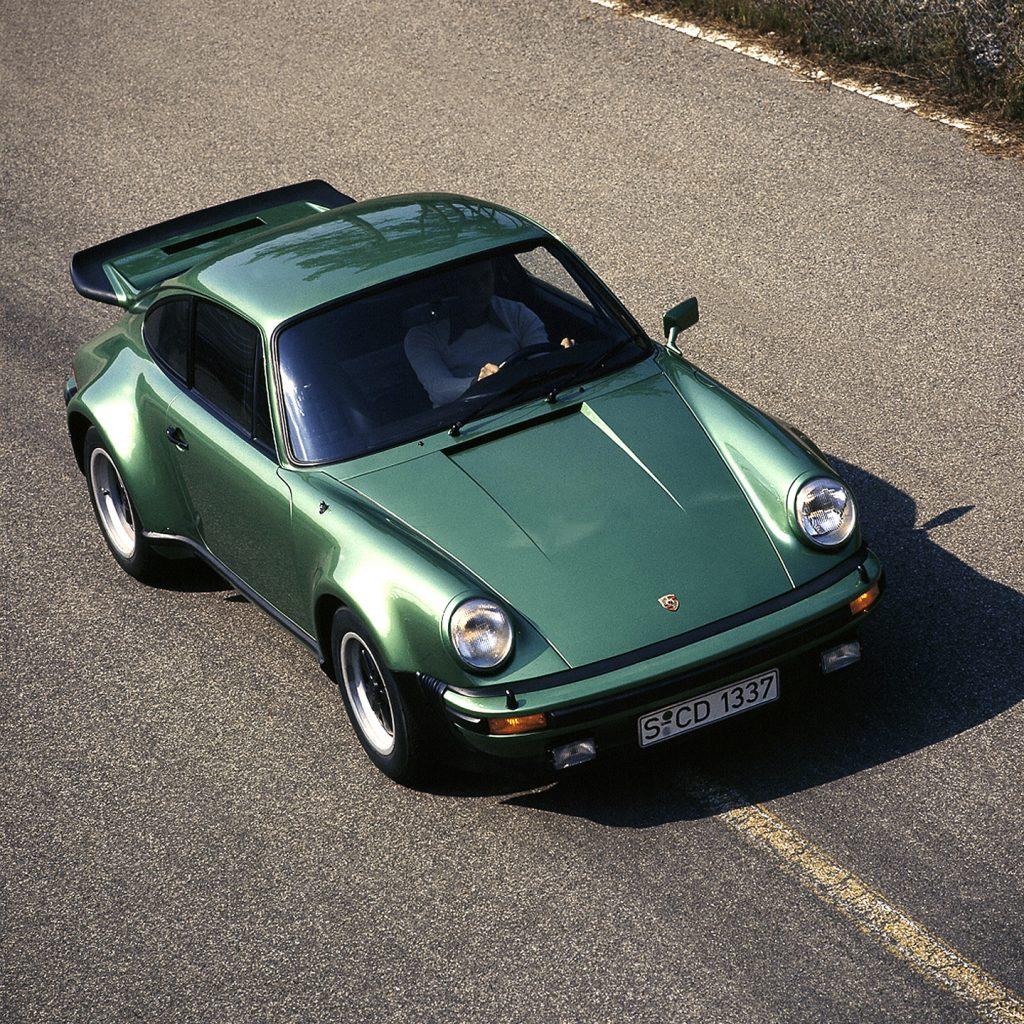 Porsche 911 Turbo 1974 года