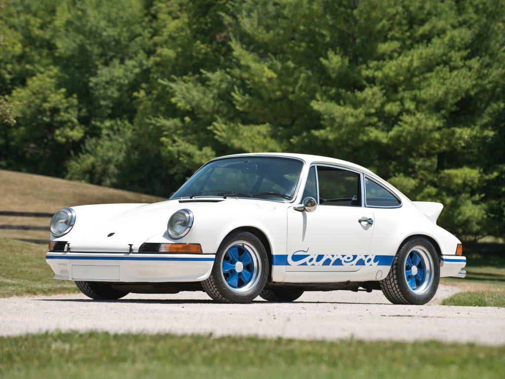 Porsche 911 arrera RS 2,7 1973 года
