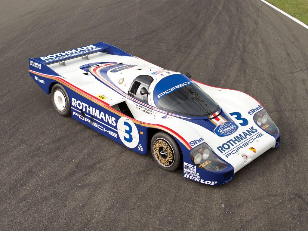 Porsche 956 1982 года