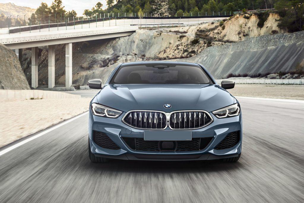 BMW 8 Series 2018, вид спереди