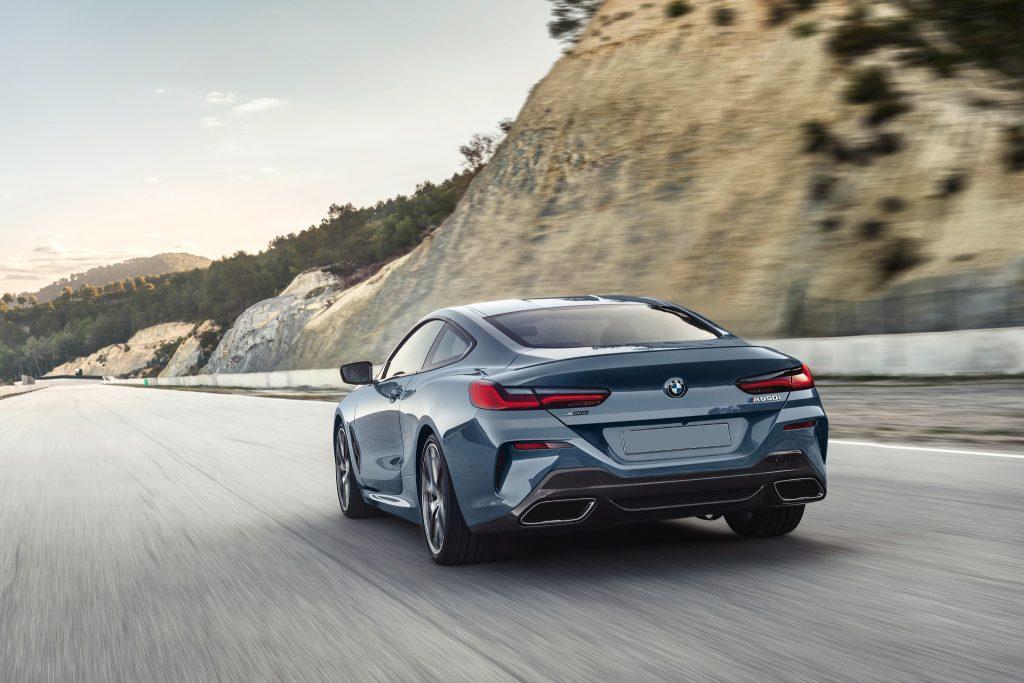 BMW 8 Series 2018, вид сзади
