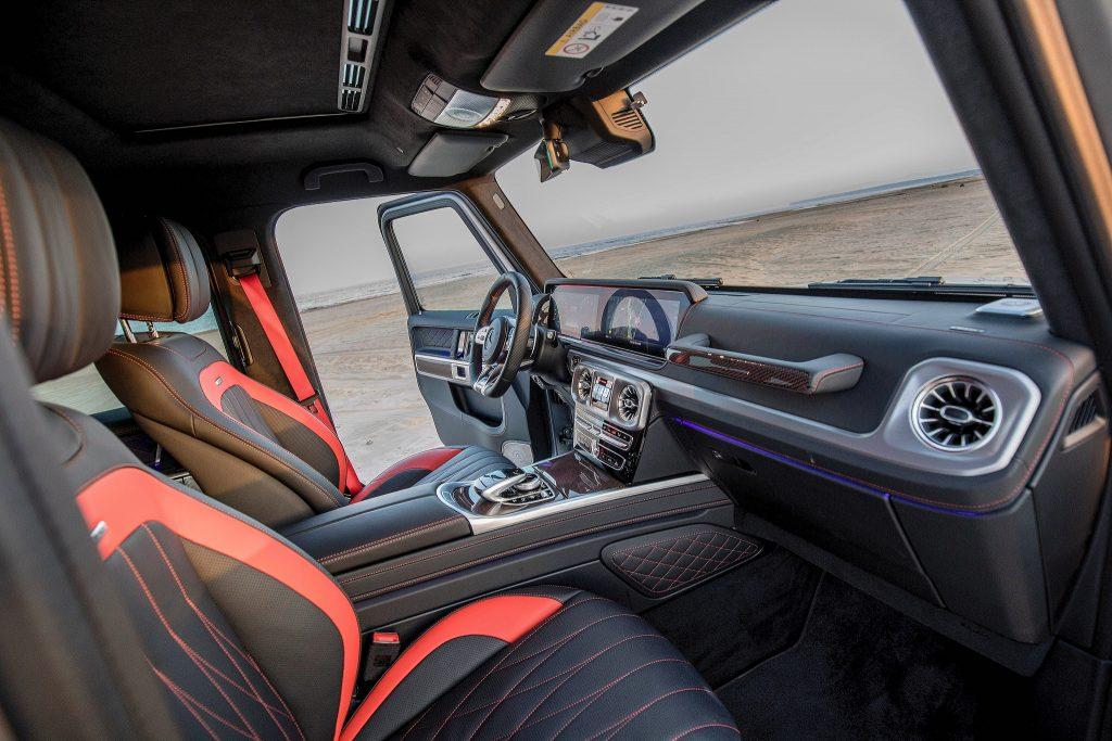 Mercedes-Benz G-Class, передние сиденья