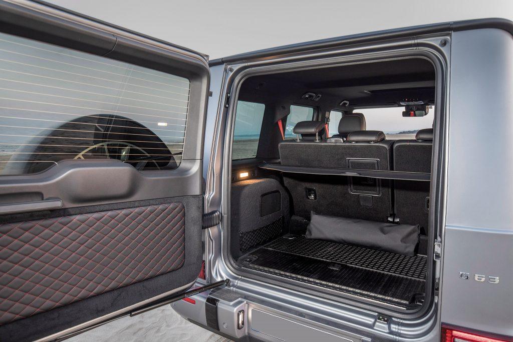 Новый Mercedes-Benz G-Class, багажник