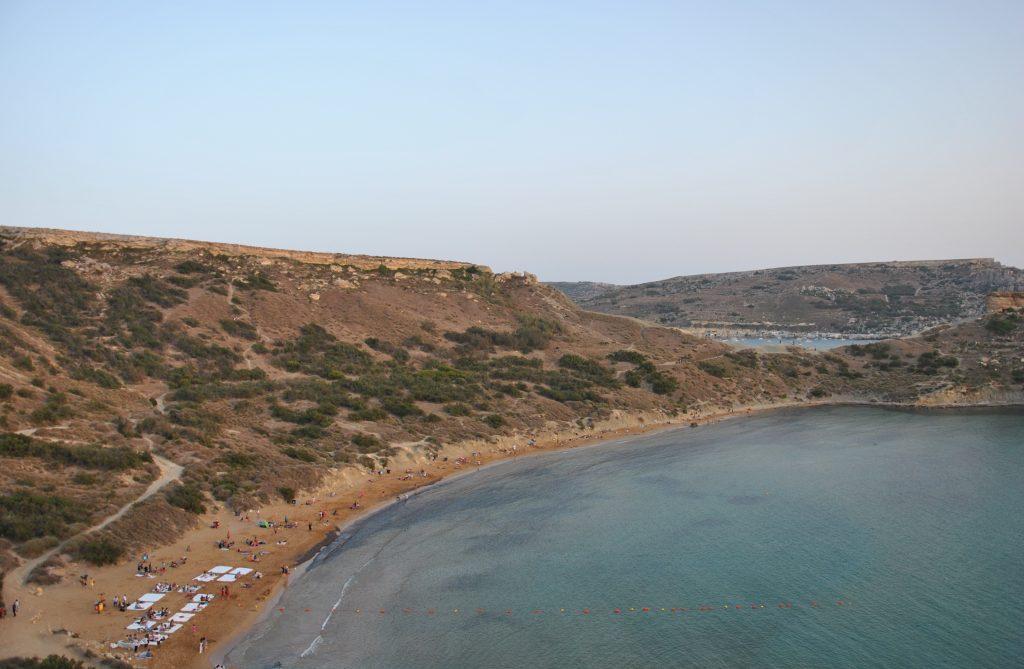 На Мальте есть как песчанные, так и галечные пляжи
