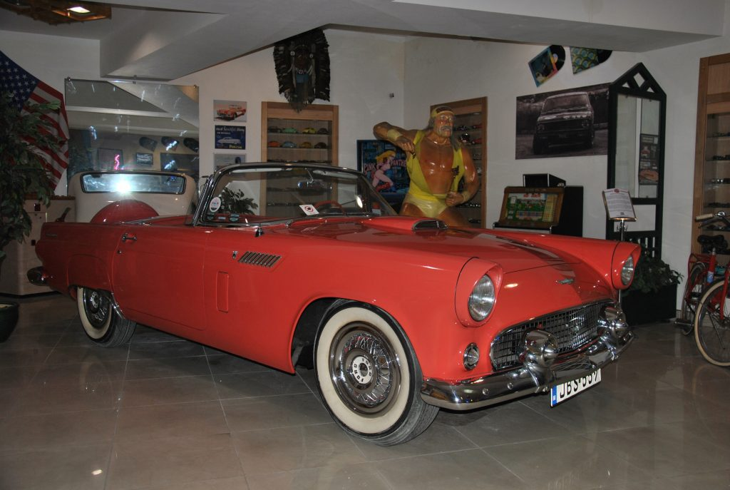 Ford Thunderbird 1955 года