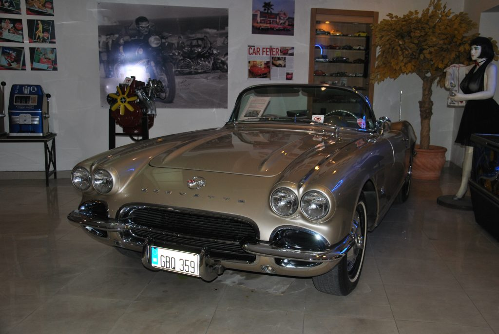 Chevrolet Corvette 1962 года