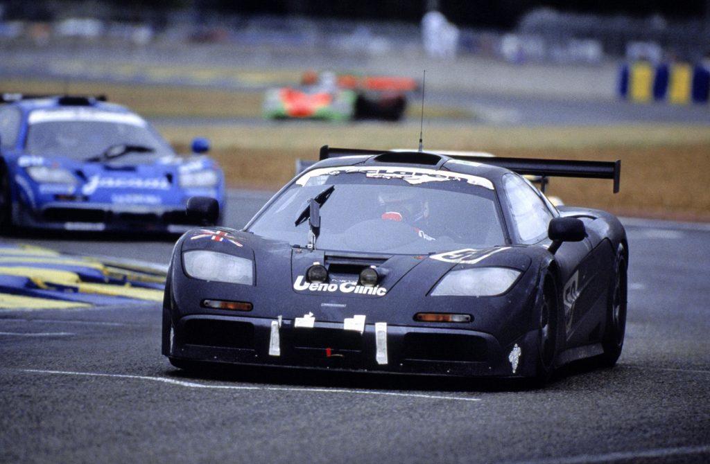 McLaren F1 GTR - победитель 24-часовой гонки в Ле-Мане, 1995 год