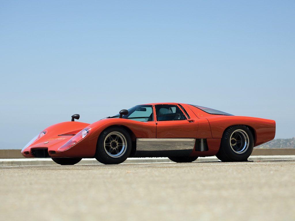McLaren M6GT 1970 года так и не стал серийным
